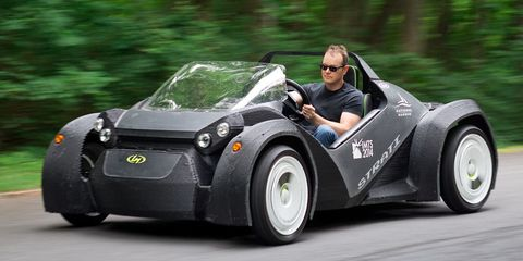 The World's First 3D-Printed Car Is a Blast to Drive