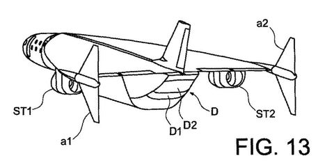 Airbus Patents a Concept Jet That Could Fly From New York to London in an Hour