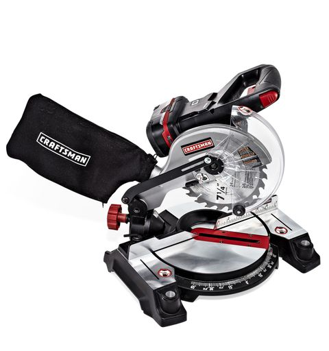 <p><em>3.5 stars</em></p><p><strong></strong><strong>Voltage/amp-hours</strong>: 19.2-v/4-Ah</p><p><strong>Crosscut capacity</strong>: 4 9/16 in.</p><p><strong>1 x 4 cuts per charge</strong>: 272</p><p><strong>Likes</strong>: The Craftsman and Ryobi are twins separated at birth. Almost everything said about one applies to the other. This is a lightweight, fast-cutting saw with excellent fit and finish and a small footprint.</p><p><strong>Dislikes</strong>: We're nitpicking, but the indented area that holds the table insert could use a beveled edge to keep wood from catching on it.</p>