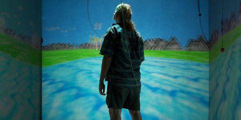 Bermuda shorts, Animation, Paint, Painting, Digital compositing,