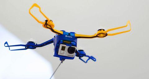 Blue, Yellow, Cable, Line, Electric blue, Technology, Orange, Azure, Wire, Cobalt blue,