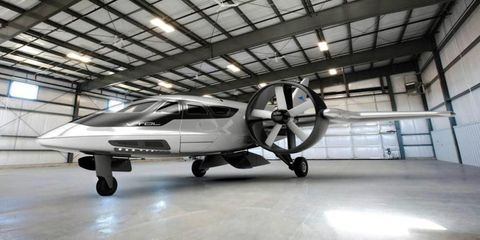 The Transforming Vertical-Takeoff Plane That's Better Than a