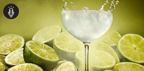 Lemon, Green, Citrus, Glass, Fruit, Meyer lemon, Sweet lemon, Tableware, Key lime, Lemon peel,