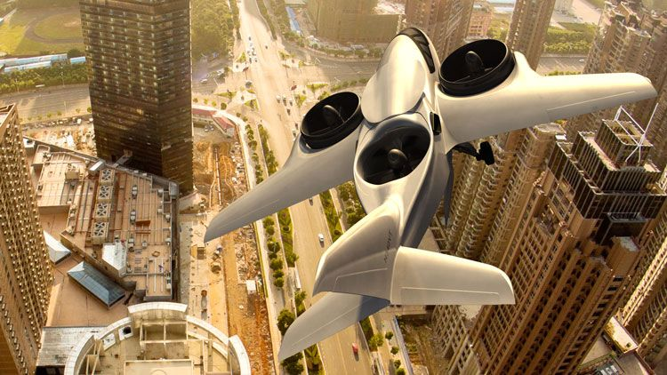 Uber Wants to Carry You in Vertical-Takeoff Planes