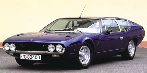 "<p>Translated from Spanish, ""espada"" means ""sword"", and is often used in <a href=""http://www.carmagazine.co.uk/features/car-culture/a-load-of-bulls-a-potted-history-of-lamborghini-names/"" target=""_blank"">reference to the bullfighter himself.</a> This four-seater had a 4.0 liter V12 engine that made between 325 and 350 bhp.</p>"