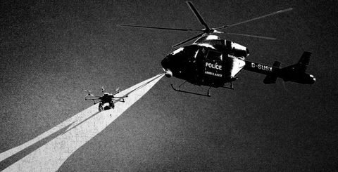Helicopter, Rotorcraft, Aircraft, Helicopter rotor, Atmosphere, Aviation, Monochrome photography, Monochrome, Military helicopter, Air travel,