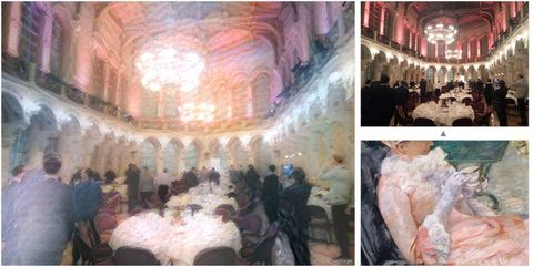 Function hall, Art, Tablecloth, Hall, Banquet, Ceremony, Party, Painting, Linens, Paint,