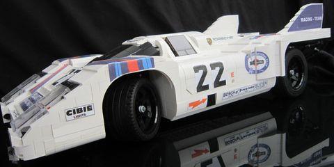 This LEGO Porsche Race Car Is Perfection
