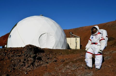 Soil, Astronaut, Dome, Geology, Space, Workwear, Employment, Job, Dome, Tent,