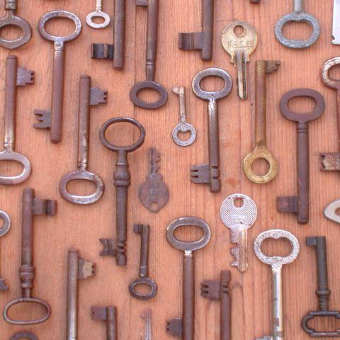 Font, Metal, Iron, Tan, Hardwood, Bronze, Household hardware, Varnish, Tool, Collection,