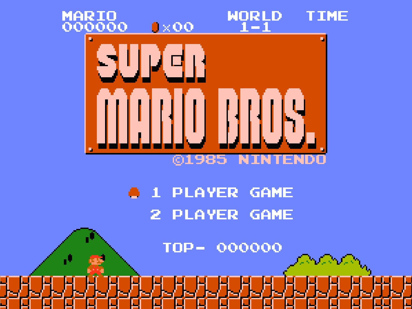 Why the Famous First Level of Super Mario Bros  Looks the