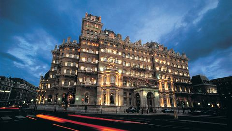 """<p><a href=""""http://www.langhamhotels.com/en/the-langham/london/"""" target=""""_blank"""">The Langham Hotel</a> in London is <a href=""""http://www.huffingtonpost.com/ellen-ladowsky/room-333-the-most-haunted_b_341060.html"""" target=""""_blank"""">reportedly home to a number of ghosts</a>, including a doctor who murdered his wife and then committed suicide, a man with a deep wound on his face, a former butler who wanders the hallways, and Napoleon III. </p>"""