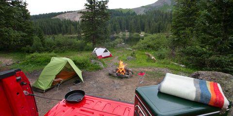 Tent, Camping, Recreation, Highland, Landscape, Outdoor recreation, Forest, Mountain, Wilderness, Terrain,