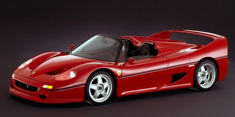 <p>The F50 occupied that awkward spot between two of Ferrari's other legends: the F40 and the Enzo. However, it was still wickedly fast and rare—only 349 were made.</p>
