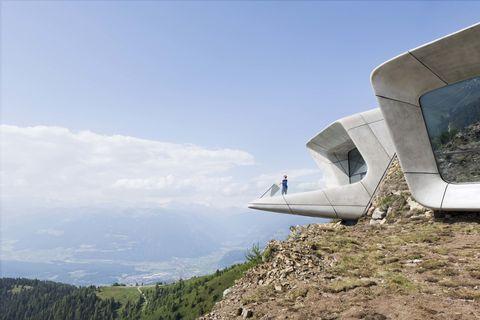 Slope, Air travel, Concrete, Aircraft, Chaparral, Wind,