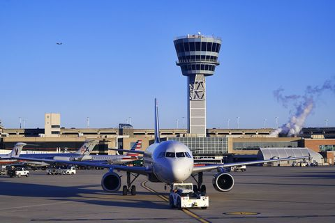 Airplane, Sky, Aircraft, Airport, Infrastructure, Airliner, Airline, Air travel, Aviation, Aerospace engineering,