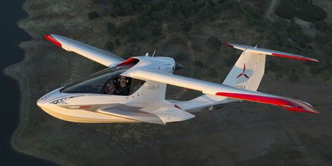 icon a5 a ride in the tesla of airplanes