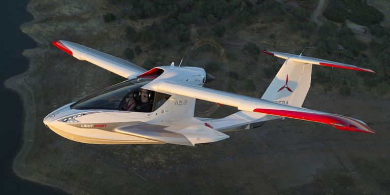 icon a5 a ride in the tesla of airplanes. Black Bedroom Furniture Sets. Home Design Ideas