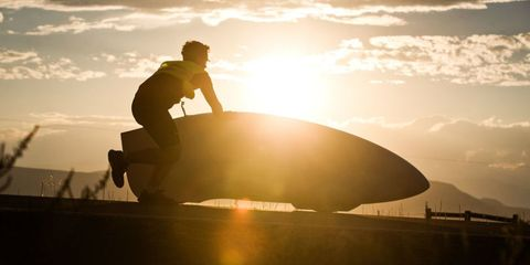 Sunlight, Backlighting, Helmet, Boot, Heat, Sunrise, Sunset,