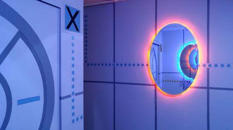 Blue, Colorfulness, Majorelle blue, Electric blue, Azure, Cobalt blue, Parallel, Space, Circle, Rectangle,