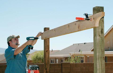 How To Build A Pergola Step By Step Diy Building A Pergola