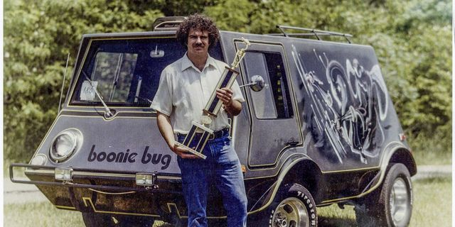 I Wish I Were Half As Cool As This Van-Building 1970s Popular