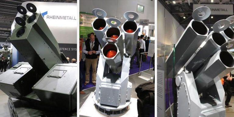 Gatling Design germany s got a 4 barrel laser gatling gun