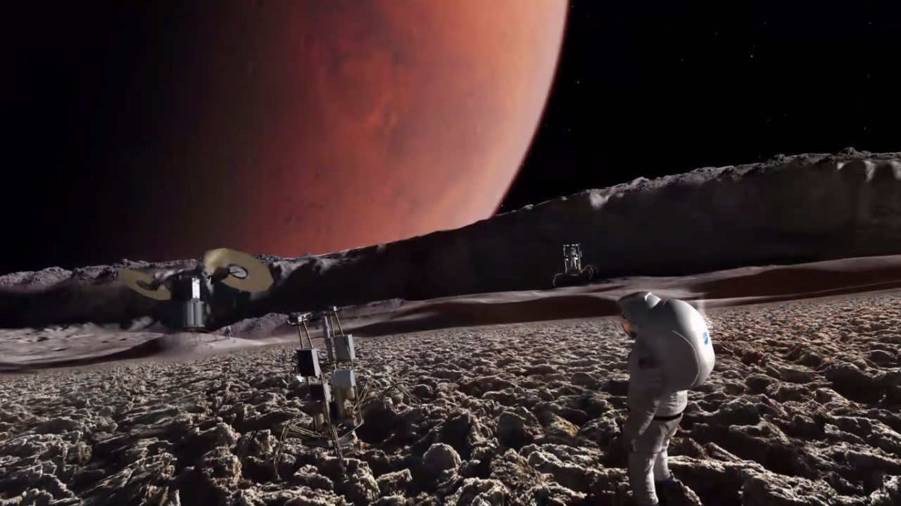 Why We Should Land on Mars' Moon Before We Land on Mars