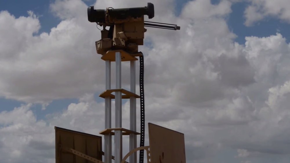 How One Remote-Controlled Gun Turret Can Do the Work of 10 Soldiers