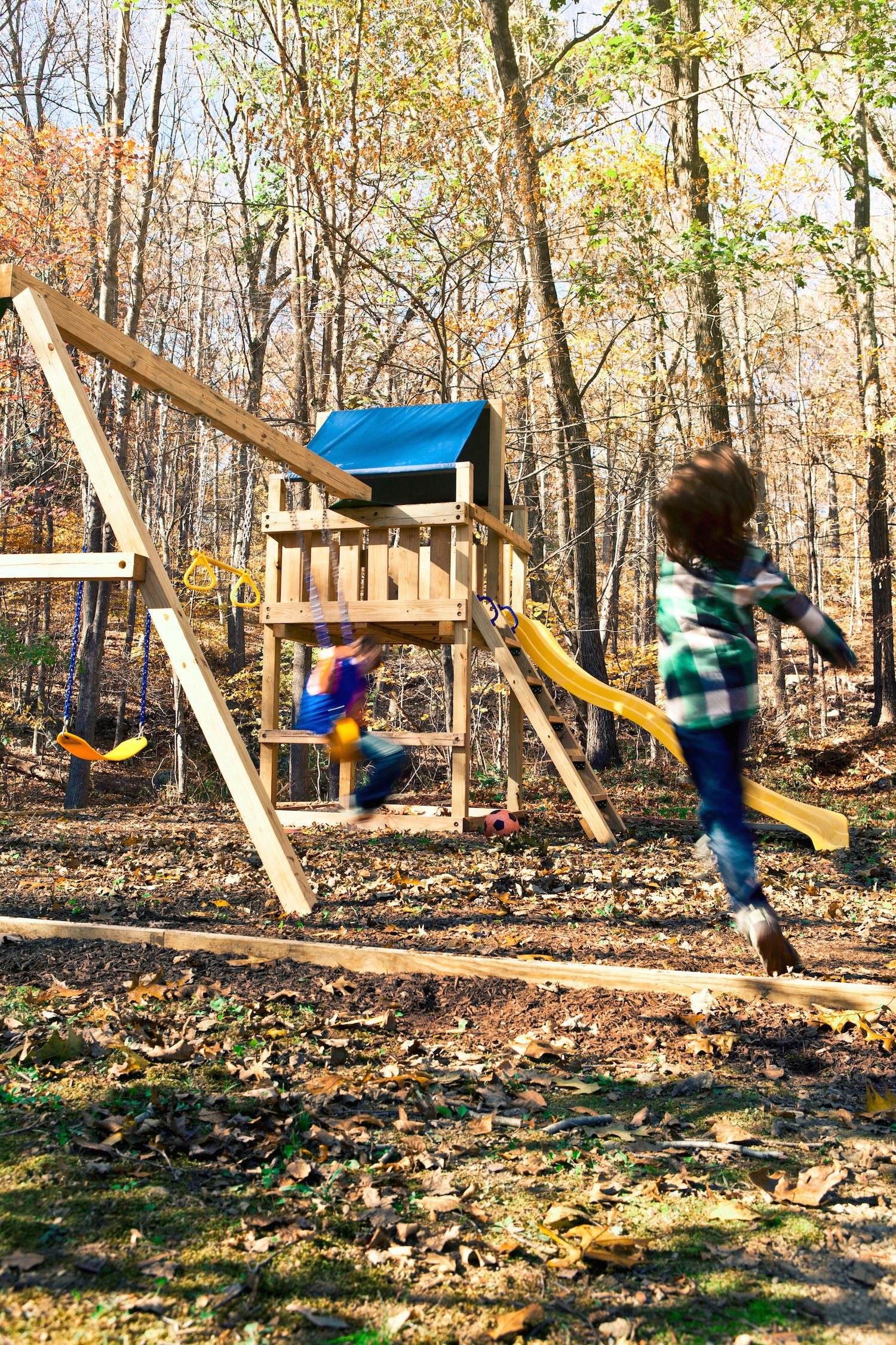 Easy Wooden Swing Set Plans How to Build a Swing Set for the Yard