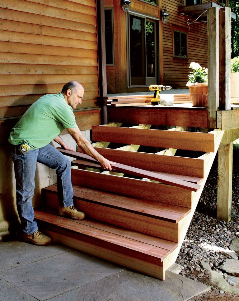 How to build stairs stairs design plans for Steps to building your own house