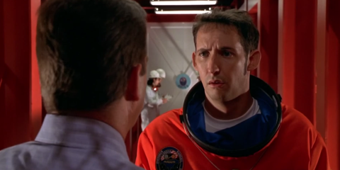 Ear, Red, Temple, Space, Jacket, Fictional character, Back, Service, Hero, Coquelicot,