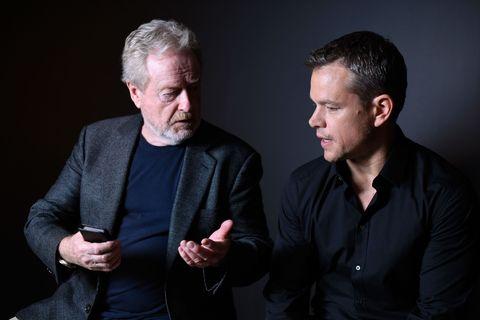 Ridley Scott, Matt Damon