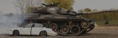 Tank, Motor vehicle, Wheel, Mode of transport, Combat vehicle, Military vehicle, People, Land vehicle, Vehicle, Automotive design,