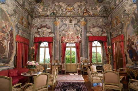 Interior design, Room, Textile, Ceiling, Furniture, Interior design, Floor, Chair, Palace, Couch,