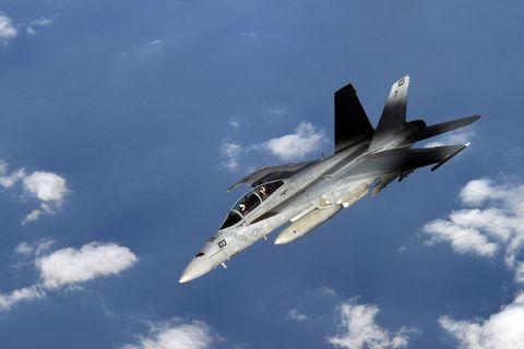 Airplane, Aircraft, Sky, Cloud, Fighter aircraft, Jet aircraft, Military aircraft, Aviation, Aerospace engineering, Flight,