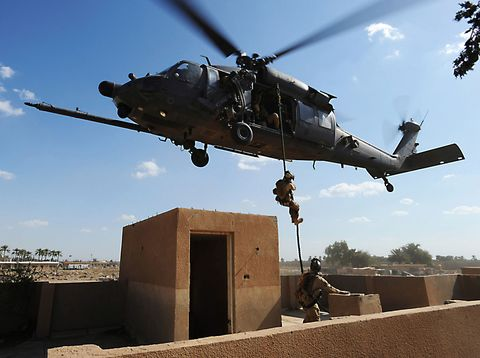 Tough Jobs: Battlefield Pararescue Airman
