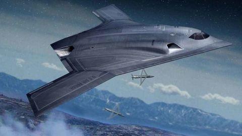 Atmosphere, Aircraft, Highland, Space, Aerospace engineering, Mountain range, Fin, Aviation, Ridge, Airplane,