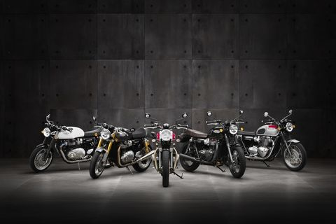 Heres The New Look Of The Classic Triumph Bonneville Motorcycle