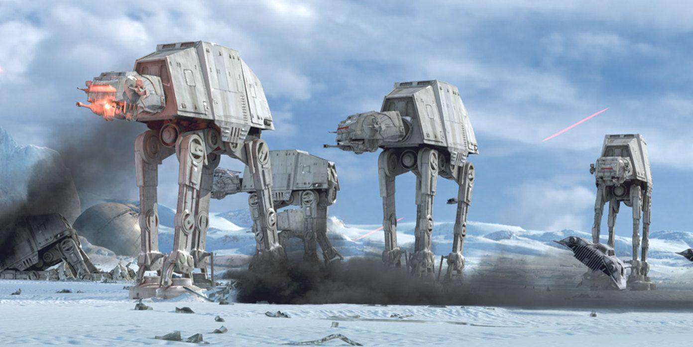 The Devolution of 'Star Wars' Ridiculous Walker Tanks