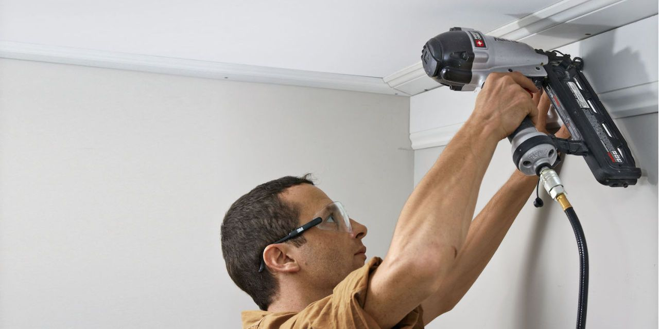 How to Install Crown Molding the Easy Way