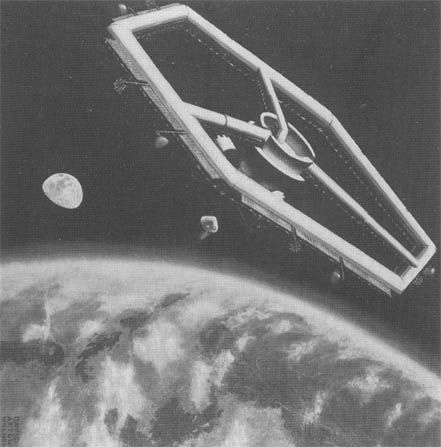 <p>After the torus-style station fell out of fashion, NASA began to explore the possibility for a hexagonal space station. Unlike the torus, it never moved from concept to full-scale prototype, but provided an interesting early experiment in space habitat design. </p>