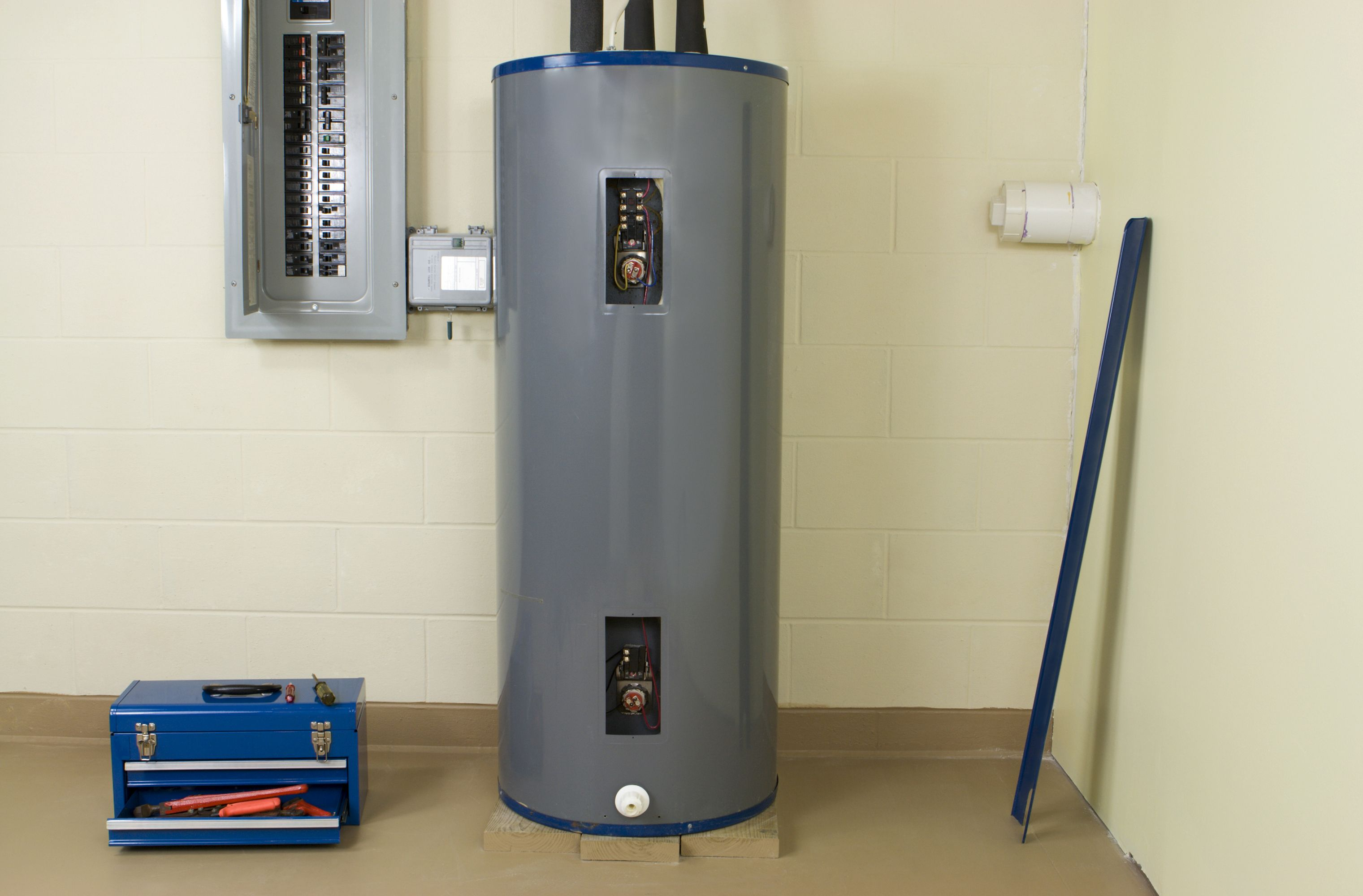 Electric Hot Water Heaters - How to Install a Water Heater