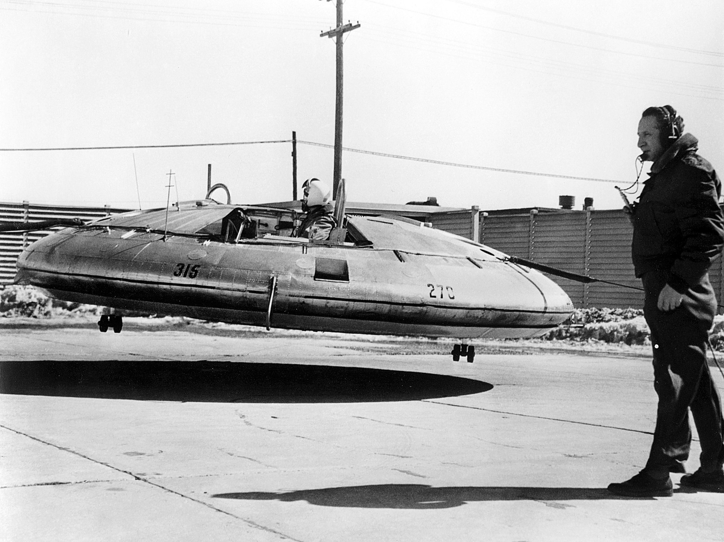Declassified: America's Secret Flying Saucer