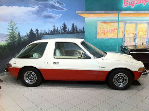 "<p>The Pacer was <a href=""http://www.cnet.com/news/the-amc-pacer-flaws-and-all/"">full of odd quirks</a>, like a pudgy stance and a passenger door that was hilariously larger than the driver's door. It was the goober of 1970s hatchbacks, and that's exactly why it's cool. </p>"