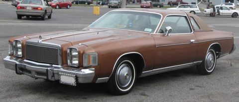 "<p>Chrysler took the meaning of ""personal luxury car"" pretty literally when it designed the Cordoba. <em><a href=""http://www.hemmings.com/hmn/stories/2007/03/01/hmn_feature8.html"" target=""_blank"">Hemmings</a> </em>described the absurdly long 215.3-inch body as ""barge-like."" To put that in perspective, that's longer than the current GMC Yukon SUV. However, as large as the Cordoba was, it still only sat four passengers. </p>"