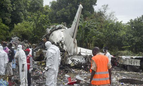 Russian cargo plane crash in South Sudan