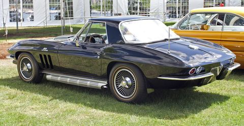 "<p>Chevy threw a 7.0-liter V-8 into the Corvette in 1966 ""<a href=""http://www.caranddriver.com/reviews/1966-chevrolet-corvette-stingray-427-road-test"">primarily to save weight</a>."" One Chevrolet man said ""You must remember that cast-iron is very heavy, and by removing thirty cubic inches of it, we have made a significant reduction in weight."" Removing weight and increasing displacement is never a bad thing, and though Chevy claimed that the larger engine didn't change in its horsepower output, the butt dynos of r<span class=""redactor-invisible-space"">oad testers everywhere begged to differ. </span><em></em></p>"