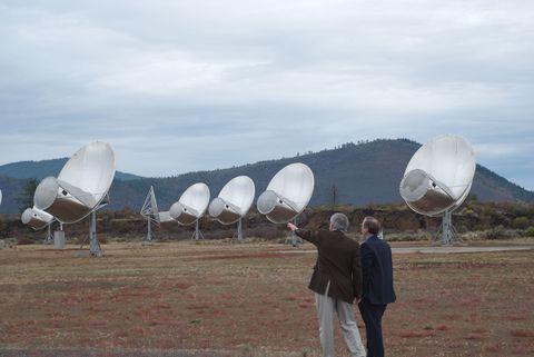 Telecommunications engineering, Antenna, Technology, Radio telescope, Mountain range, Biome, Rural area, Radar, Fell, Space,