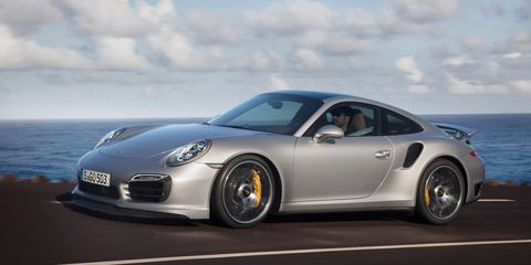 <p>The 911 Turbo S is a good bit more powerful than the first several cars on the list, but surprisingly, it's not further up. Its 3.8-liter engine makes 560 horsepower, giving it a specific output of 147.5 horsepower per liter. </p>